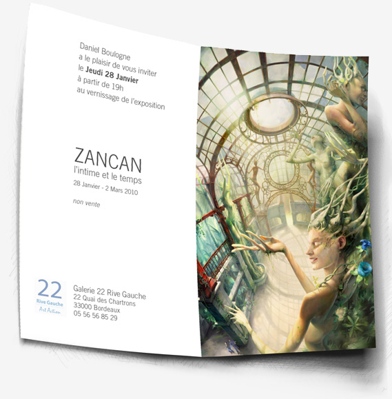 100128 Exposition Zancan Invitation Vernissage