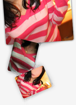 070213 Jo Pink Stripes 2 - censored