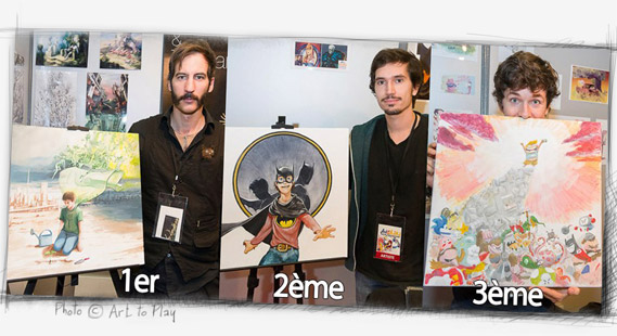 Art to Play 2012 - Arting Spirit Winners